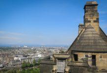Edinburgh Castle Skottland