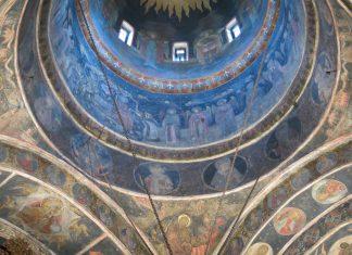 Stavropoleos kyrkan Belgrad Rumänien