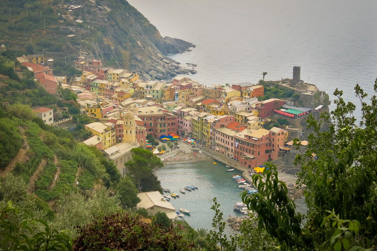 Vandring i Cinque Terre. Monterosso - Vernaza - Corniglia