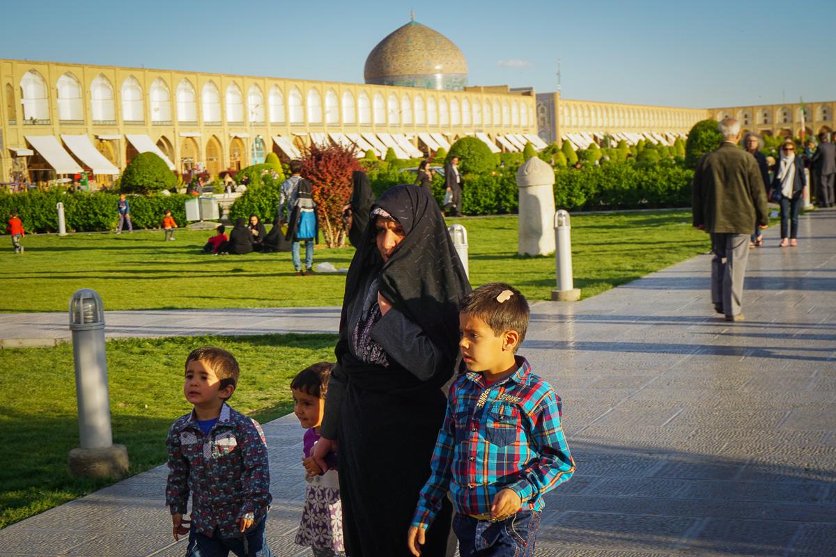 Isfahan i Iran - Naqsh-e Jahan - Sheikh Lotfallah