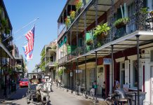 New Orleans French Quarters