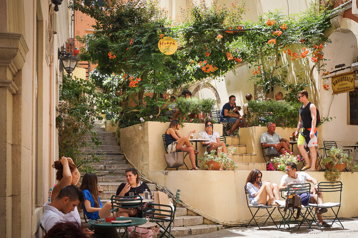 Korfu stad - Grekland