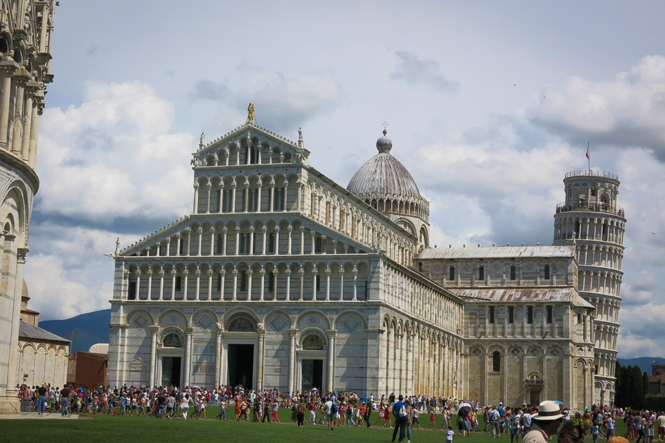 Det lutande tornet i Pisa