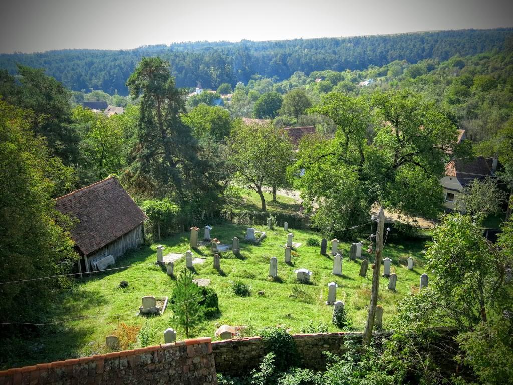 Befäste kyrkan i Viscri, Transsylvanien