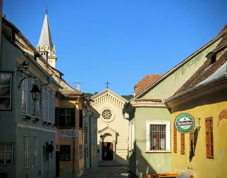 Sighisoara Transsylvanien