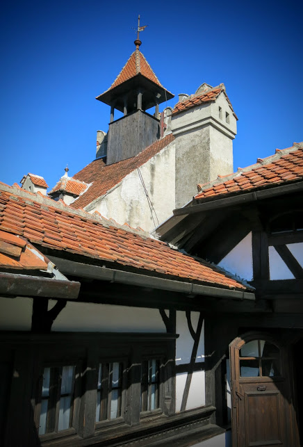 Draculas slott Bran Castle