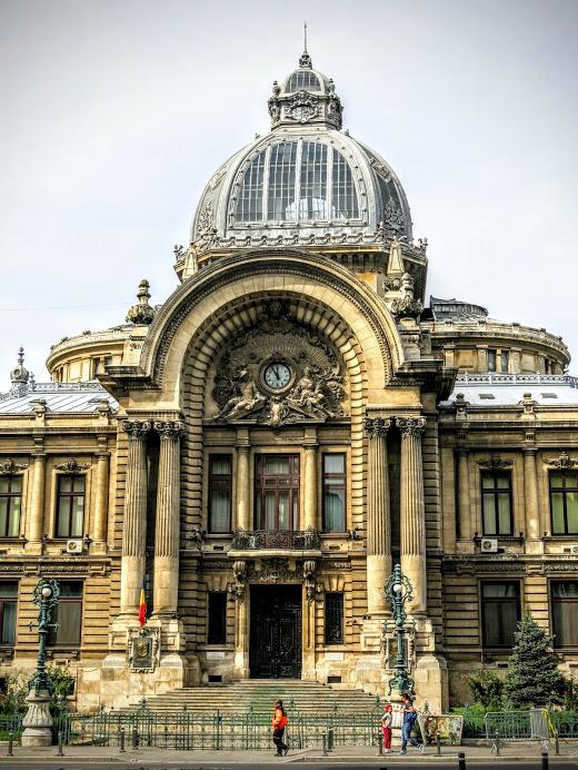 CEC Palace Bukarest Rumänien