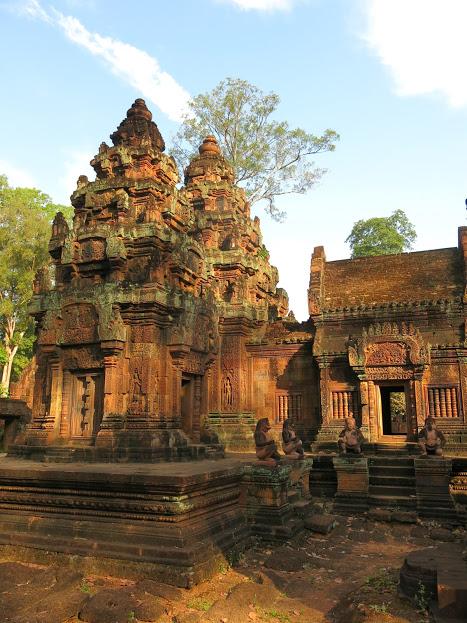Banteay Srei - Det rosa kvinnotemplet i Angkor