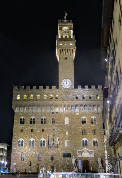 Palazzo Vecchio Florens