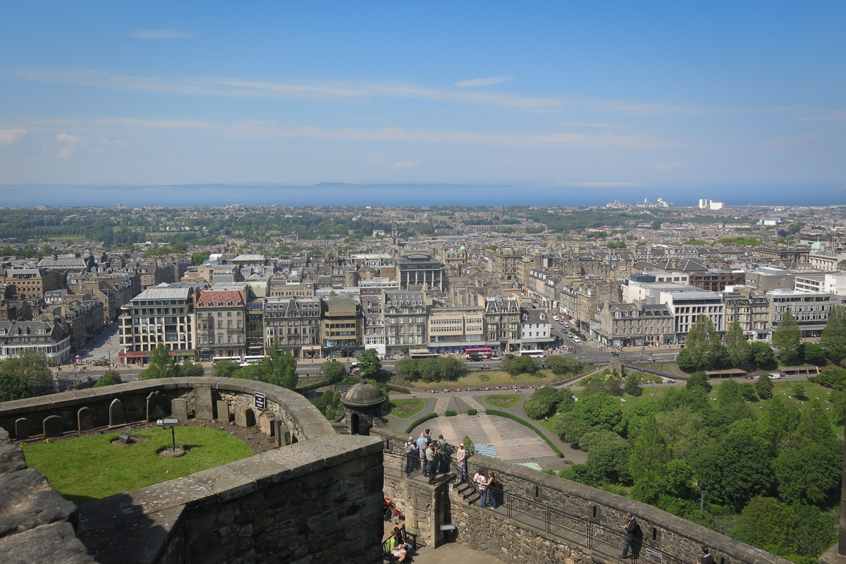 Edinburgh Castle Skottland