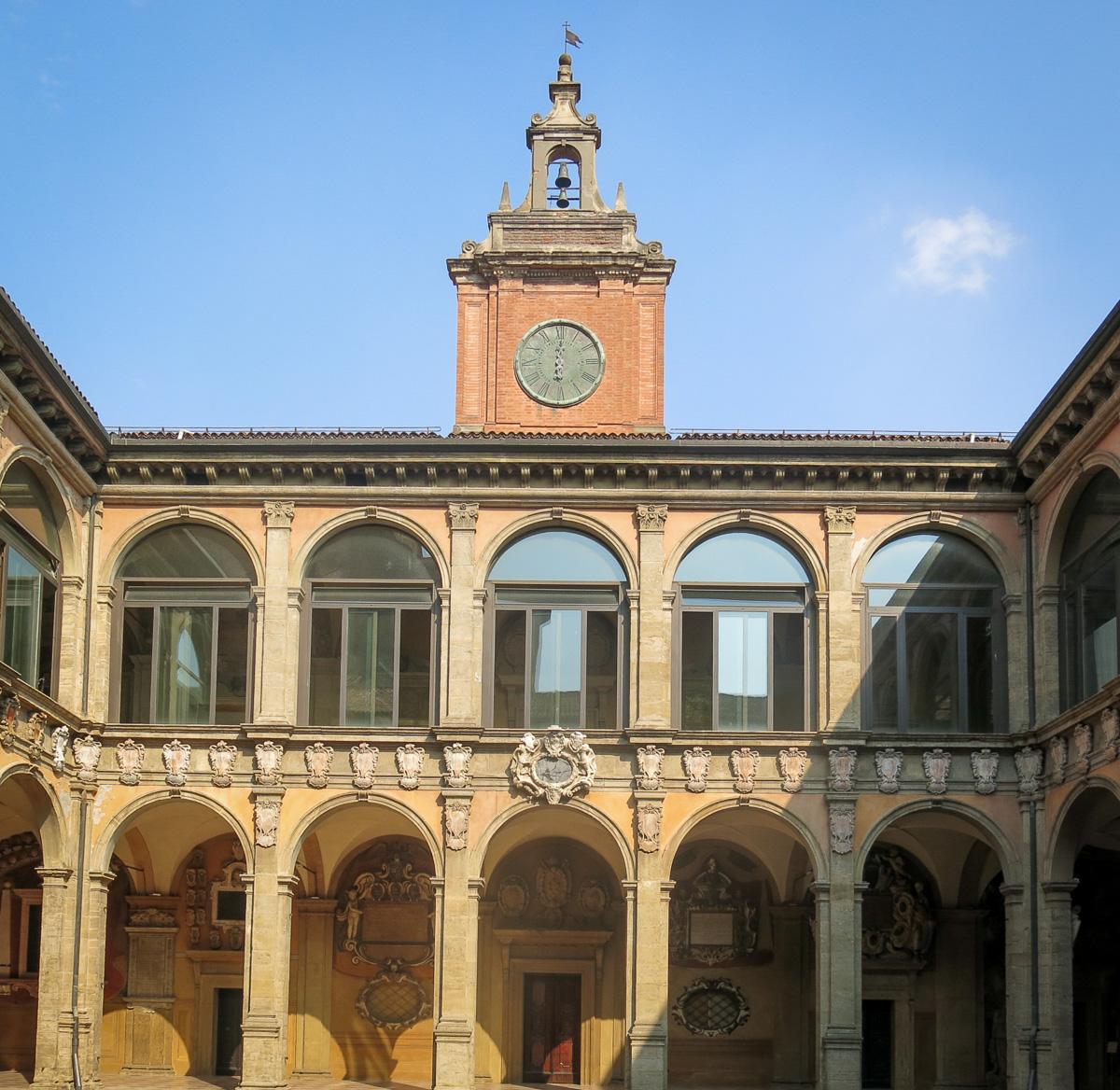 Bologna Palazzo dell´Archiginnasio