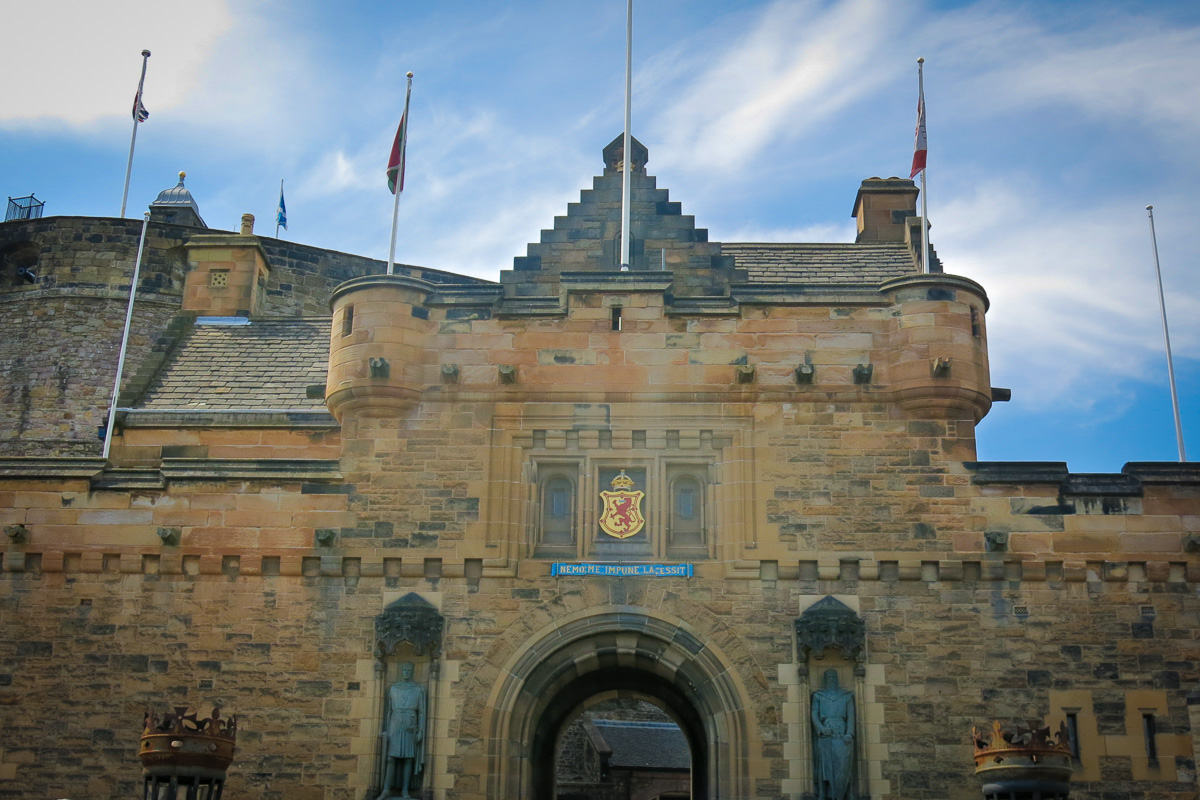 Edinburgh Castle Skottland-18