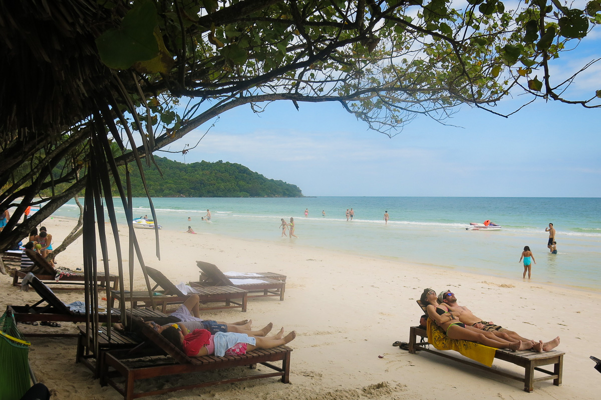 Paradisstrand Bai Sao Vietnam