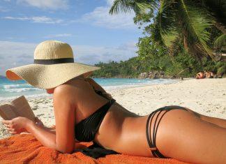 Paradisstrand Anse Lazio Seychellerna