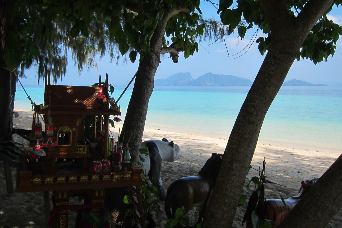 Paradisstrand Koh Kradan Thailand