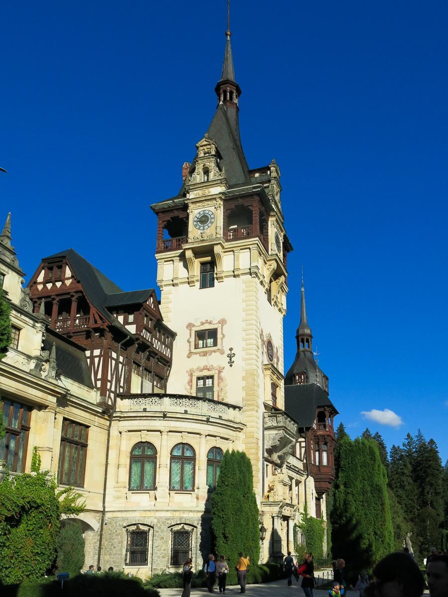 Peles Castle Transylvania Transsylvanien