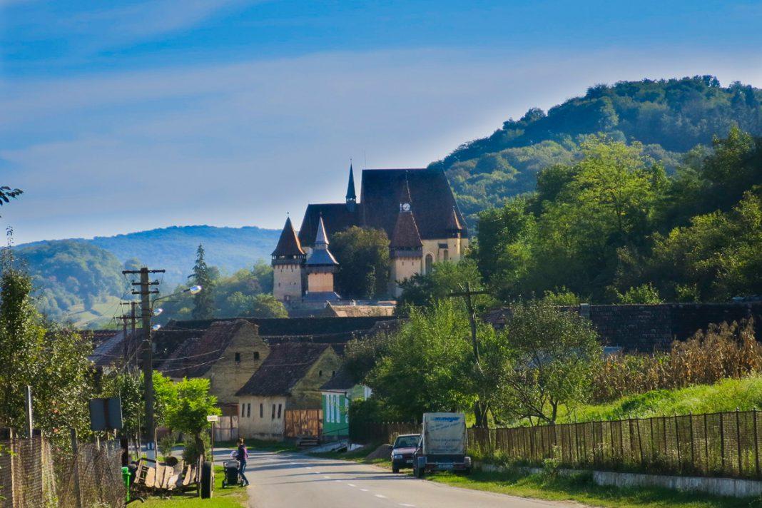 Biertan befäst kyrka Fortified Church Transsylvanien