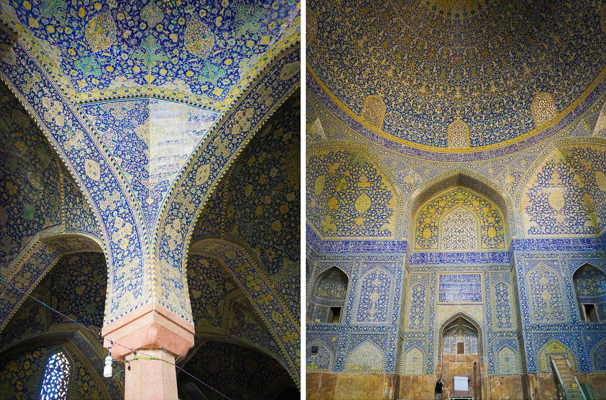 Iran - Isfahan - Naqsh-e Jahan - Masjed-e Shah