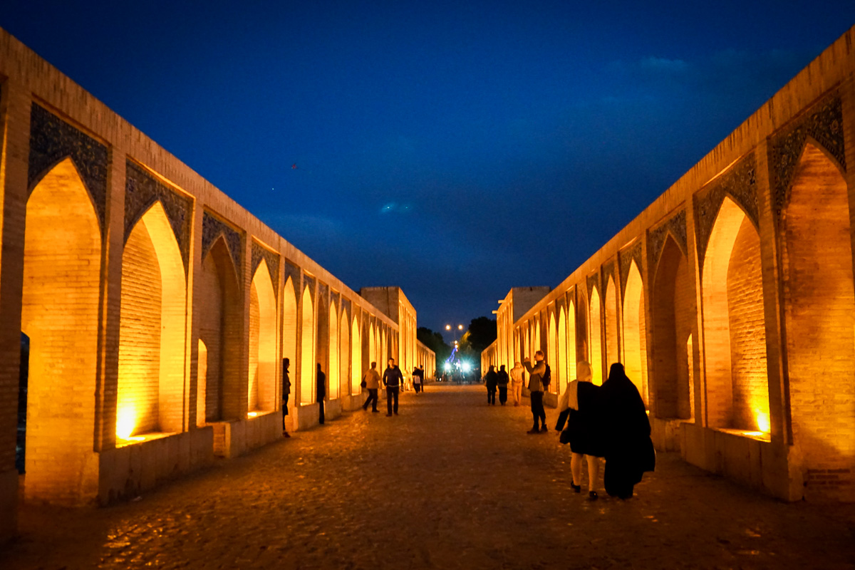 Iran - Isfahan - Pol-e Khaju