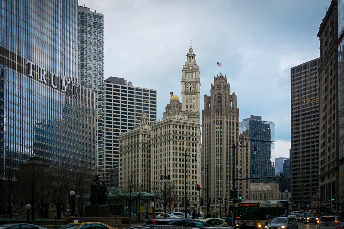 Chicago Illinois Skykrapor
