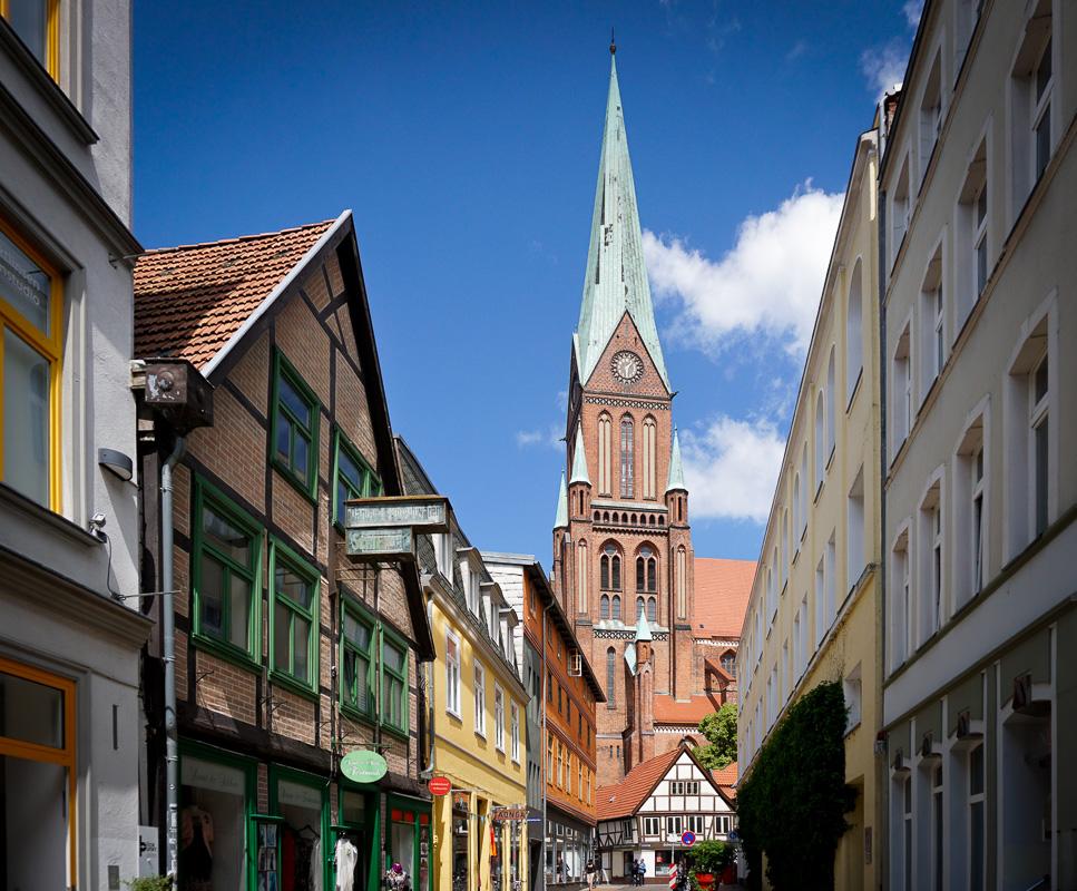 Schwerin Tyskland Germany