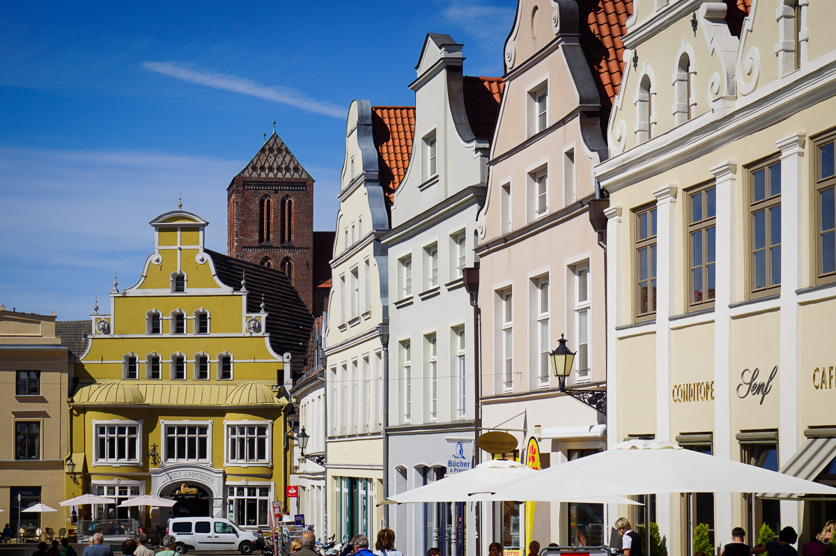 Wismar Tyskland Germany
