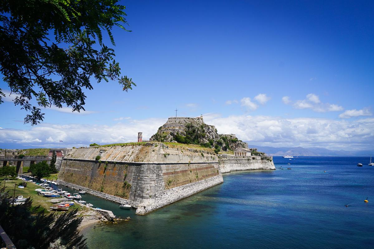 Korfu stad - Grekland-14
