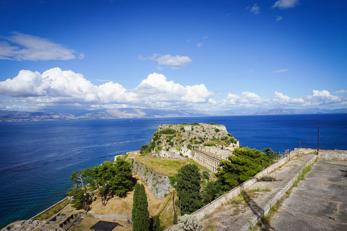 Korfu stad - Grekland-19