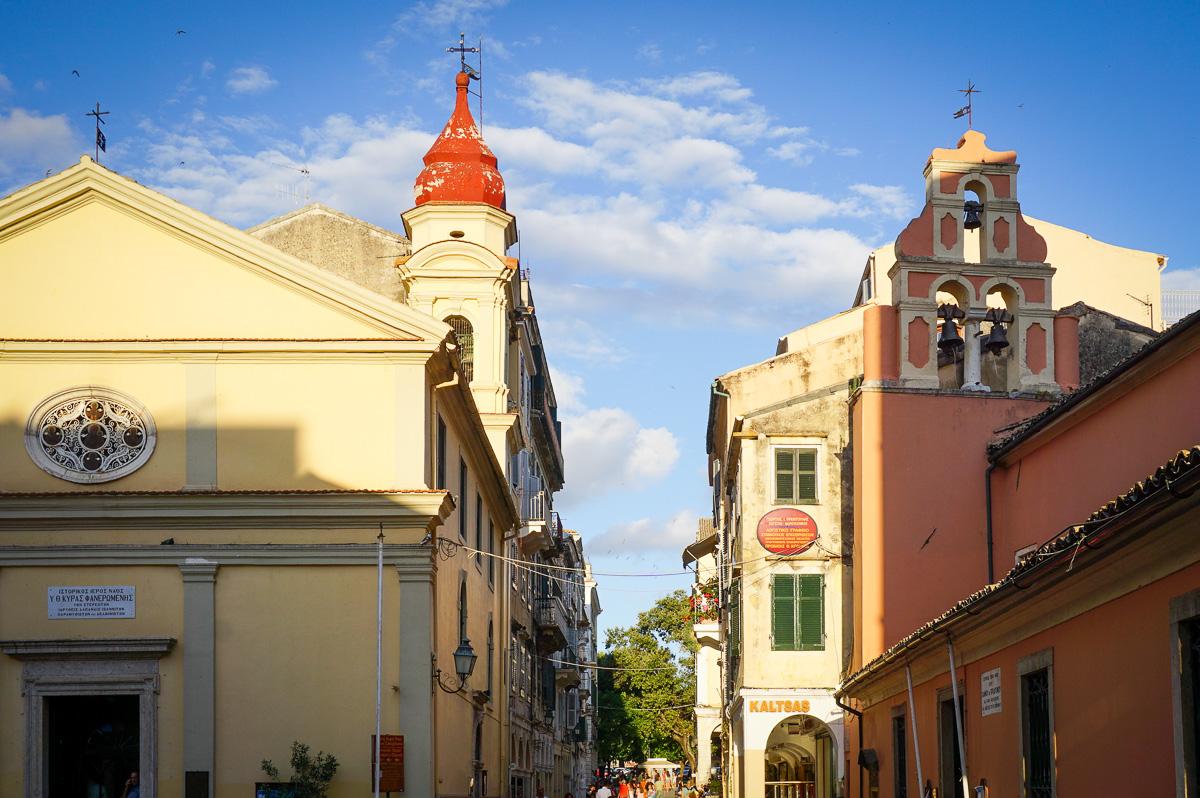 Korfu stad - Grekland-4