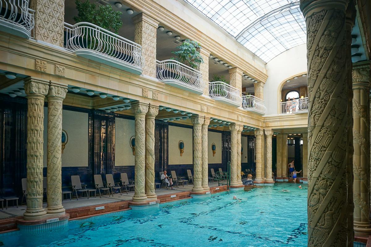 Gellert SPA bath - Budapest