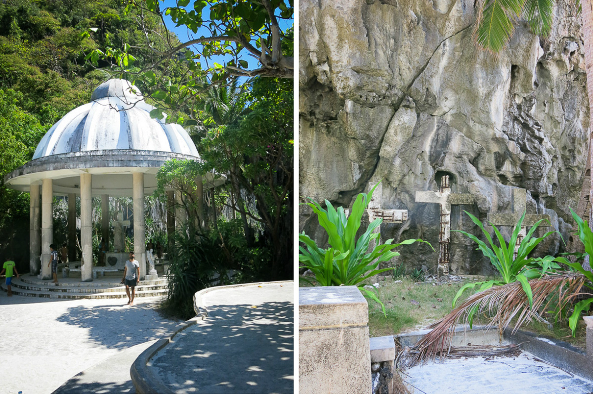 Mantiloc Shrine - Palawan - Philippinerna
