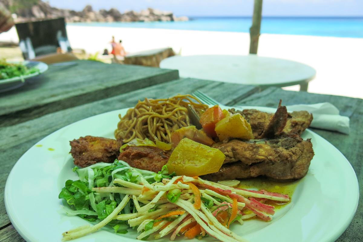 Seychellerna - La Digue - Anse Petit - Grand Petit