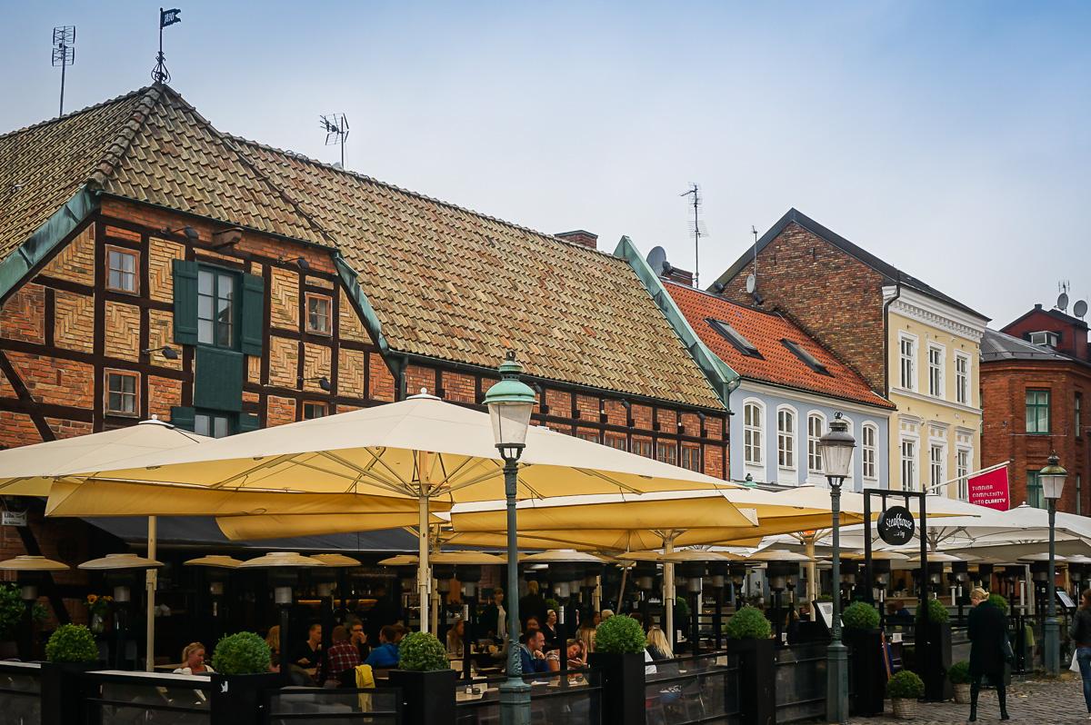 Lille torg i Malmö
