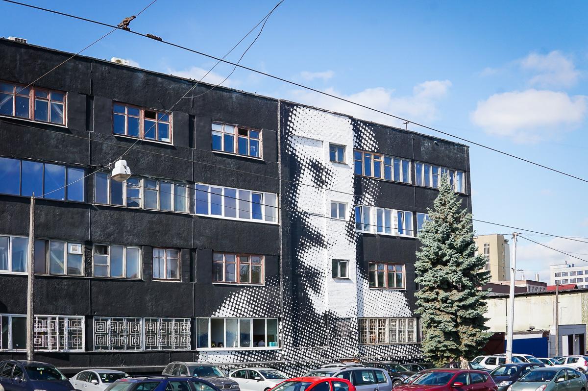 minsk-vitryssland-belarus-gatukonst