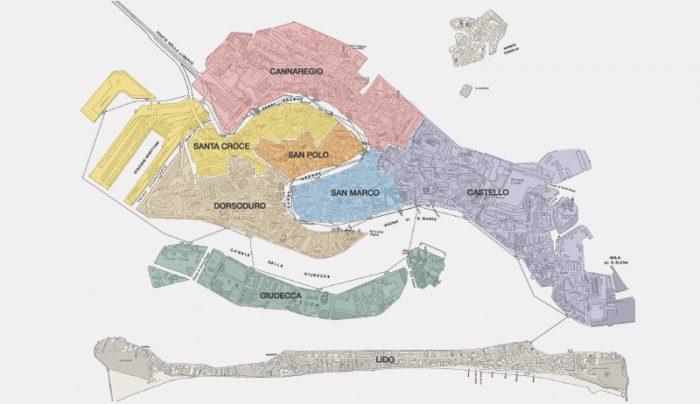 karta venedig