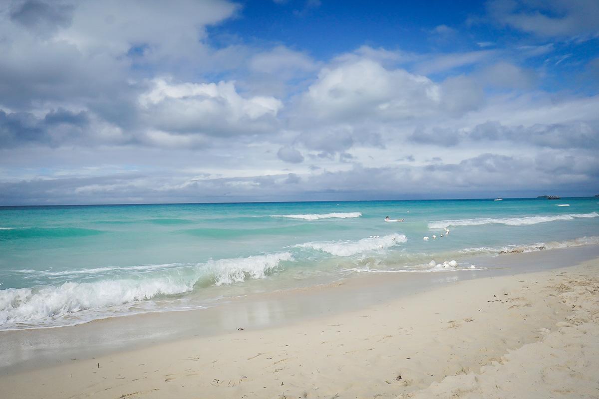 Seven Mile Beach, Negril på Jamaica
