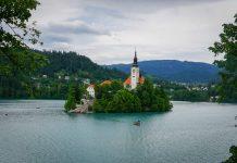 slovenien bled vintgar jasna vrsic