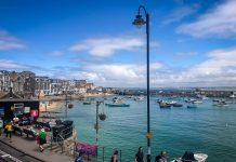 uk cornwall st ives restauranger boende