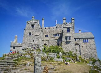 uk england cornwall st michaels mount