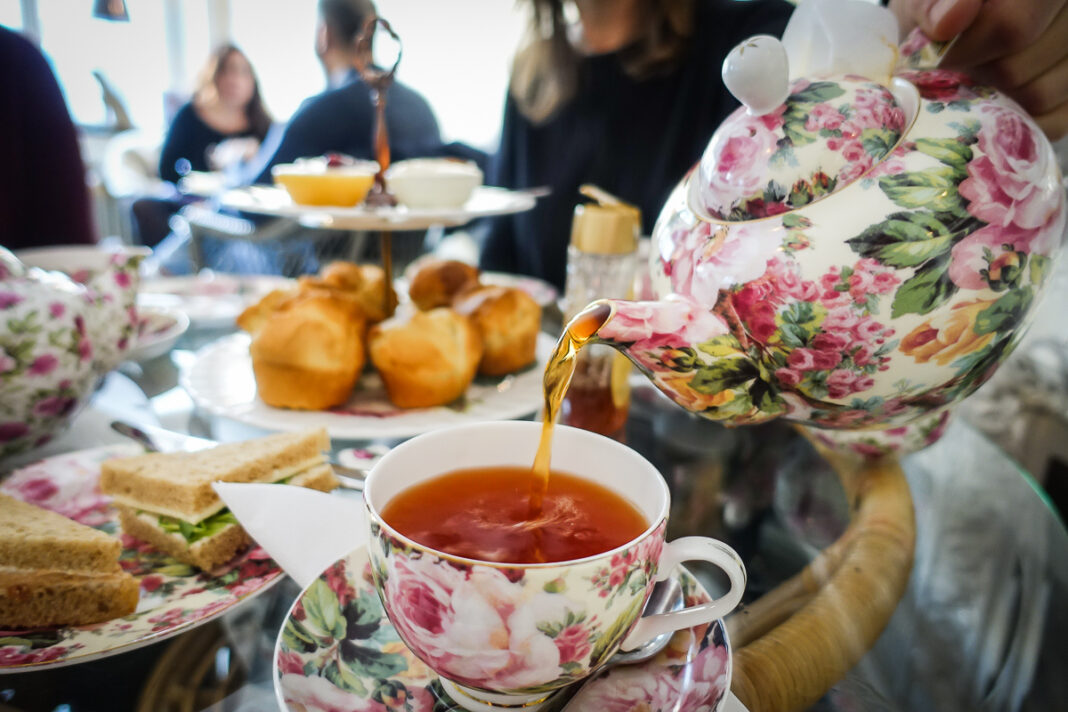 Afternoon tea på Tea & Garden i Stockholm