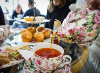 Afternoon tea på Tea & Garden i Stockholm